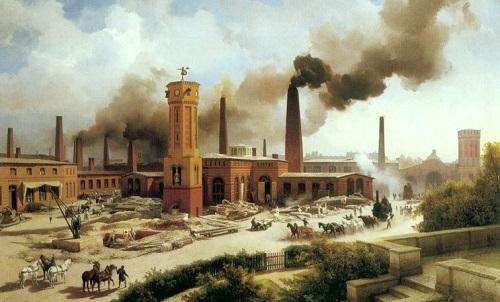 نوشتن دفتر حساب در زمان انقلاب صنعتی